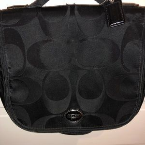 Coach travel cosmetic bag